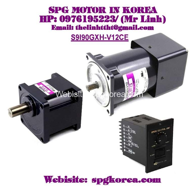 S9i90gxh v12ce for Speed control of induction motor
